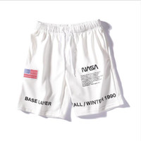 19SS NASA x Heron Preston Hommes Short 3 Couleurs Mode Broderie Été Shorts High Street Pantalon simple