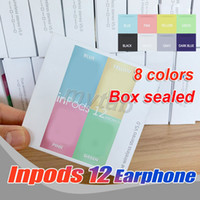 Macaron 8 color inpods 12 inpods12 i12 colors Bluetooth wire...