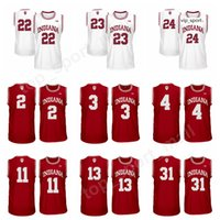 Indiana Hoosiers Jerseys College Baloncesto Victor Oladipo Eric Gordon Og ANUNOBY QUENTIN TAYLOR JERSEY RED THOMAS BRYANT