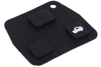 도요타 용 C91 자동차 리모트 키 홀더 케이스 셸 3 버튼 고무 패드 설치가 간편함 과도한 마모로부터 버튼을 보호하십시오 무료 배송