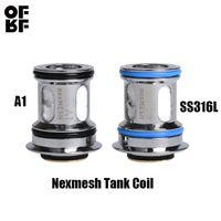 OFRF NexMESH Tankı Bobin NexMESH A1 0.2ohm SS316L 0.15ohm Konik Hasır Bobin 2 ADET / PAKET OFRF NexMESH Alt ohm Tankı Için Otantik