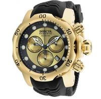 Top Quality Swiss Coscial Diamètre de la marque originale 52mm Chronographe Luminous Courroie de silicone Lumineux Quartz Watch de luxe + Boîte d'origine