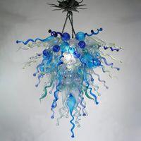 Современные подвесные светильники ручной вручную стеклянные люстры Chastelies потолочный цвет живущая комната креативная люстра висящая лампа