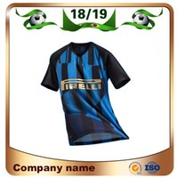 20 Jahre Gedenkausgabe Fußball Jersey 18/19 # 9 LAARDO # 10 LAUTARO Soccer Shirt NAINGGOLAN PERISIC Customized Football Uniform Sale