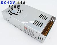 Freeshipping Supernova Vendita Alimentazione elettrica di commutazione 12V 41A 500 w Led Indoor Led Driver AC110 / 220V Per Strip Lamps All'ingrosso 1 pz / lotto