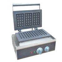 YENİ FY-115 Ticari Elektrikli Waffle Pişirme Makinesi Kare Shape Waffle MakerPlaid Kek Fırını Makinesi Isıtma Makinesi