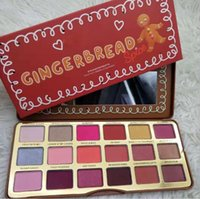 Faced Gingerbread Spice Eyeshadow Palette 18 colors Women Ma...