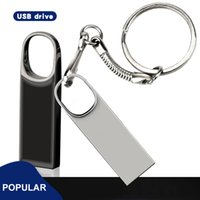 Wasserdichtes Metall-Mini-USB-Flash-Laufwerk 128 GB Pendrive 64 GB Memory Stick 32 GB 4 GB 8 GB 16 GB Pen Drive U Disk
