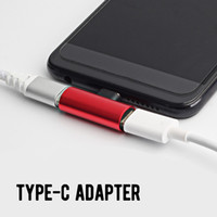 2 en 1 Type C USB 3.1 Chargement audio Double adaptateur AUX Splitter Chargeur Écouteur AUX Câble Connecteur Convertisseur Adaptateur pour Huawei
