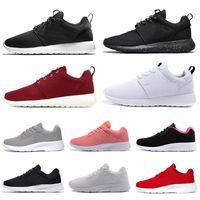nike roshe Erkekler kadınlar için ücretsiz Kargo Tanjun Koşu Ayakkabı ayakkabı üçlü siyah beyaz erkek eğitmenler Marka londra spor sneakers koşu yürüyüş 36-45
