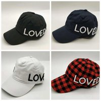 Letter Printed Baseball Hats 4 Colors Embroidery Hip Hop Sum...