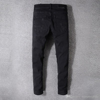 AMIRI jeans men black Europe and America high street tide br...