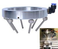 Universal-Wasser Kältespray Ring Runde Kühlwasserventil mit mehreren Metalldüsen für CNC-Fräserspindelteile Dia.125 / 150 / 190mm