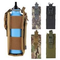 Bottiglia 1000D nylon Mensa armi della copertura tattica Molle Acqua Pouch Bag Esterni bollitore 0.5L-2L