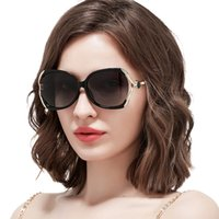 2019 High Quality Oversized Gradient Ladies Sunglasses for l...