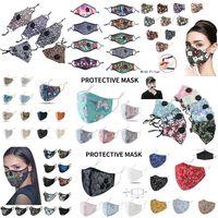 Mascarilla de la moda de la cara Mascarilla de respiración Mascarilla de la cara Anti polvo plegable sin la válvula protectora a prueba de polvo PM2.5 Máscaras de la cara del diseñador envío gratis
