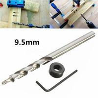 3 / 8Inch (9,5 mm) Stufenspiralbohrer Set für Kreg Taschenlochbohrer Werkzeugführung