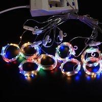 Warm 3M LED tenda della stringa della luce di natale bianco telecomando fata USB luce ghirlanda Home Camera illuminazione decorativa