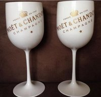 Plastic Wine Party White Champagne Glass Moet Wine Moet Glas...
