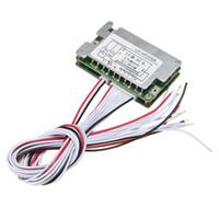 Livraison gratuite 48V BMS 13S Li-ion Batterie 30A Lithium Batterie Protection Board Balance + Wire Board Module 70x45x15mm Circuits intégrés