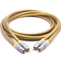 Hifi Cardas cables de audio Cardas HEXLINK ORO 5C Cable de audio Amplificador CD DVD reproductor de altavoz de Nakamichi interconexión del RCA