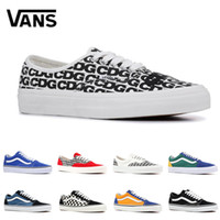 f59da508d42e Wholesale van shoes for sale - Original quality Vans Old Skool canvas sneakers  fear of god