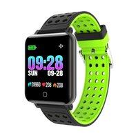 M19 Smart-Armband Blut-Sauerstoff-Blutdruck-Puls-Monitor-Smart Watch Wasserdicht Fitness Tracker Smart-Armband für iPhone und Android