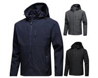 moda - yeni erkek tasarımcı ceketler Uzun kollu rüzgarlık windrunner erkekler fermuar su geçirmez ceket yüz Kuzey Hoodie Mont giyim