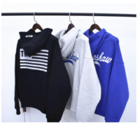 СТРАХ GOD шестых Атмосфера LA Limited Joint Line конструктор Hoodie ВОГ высокого качества утолщаются Толстовка с дизайнерскими Логотип Мужские свитеры