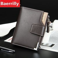 New Wallet Pu Leather Male Purse Card Holder Wallet Fashion ...