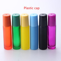 10ML MultiColor Thick Glass Roll On Essential Oil Empty Parf...