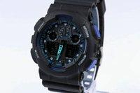 새로운 군사 남성용 시계 시계 ga100 LED 쿼츠 시계 스포츠 남성 relogios masculino 스포츠 쇼크 대형 셀 시계 남성용 시계 AA386