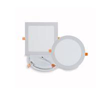 Ultra sottile Led luci di pannello giù luce 3W 4W 6W 9W 12w 15w LED rotonda luce di soffitto Luce incorporata Pannello di AC85-265V LED