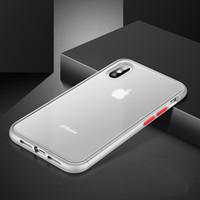 Il nuovo caso ultra sottile del respingente di TPU pc posteriore del telefono copertura per l'iphone X XS max XR 6 7 8 più