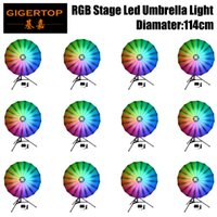 Stage Lighting Effect Reasonable 6in1 Flightcase Pack Colorful Rgb Led Umbrella Background Decoration Light Equipped Controller Box Tripod/hanging Bag Optional