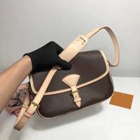 sacs à bandoulière en cuir des femmes de qualité sac messager dame mode sac à bandoulière presbytes sacs classiques Damier de la bourse dame