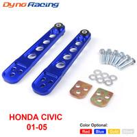 Honda Civic 2001-2005 ES DX LX SIEM EP3のためのホンダのための1対リアローコントロールアームサブフレームブレースタイバーアームASRキット