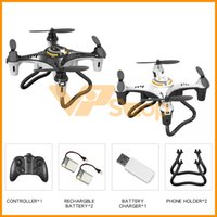 2019 JX815-2 Mini Quadrotor RC Drones 4 Channel aviões do vôo Controle Remoto RC Helicopter Novice Toy 2.4G One Button Tumbling