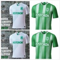 7f0a98f6767b9 19 20 calidad tailandia Atlético Nacional Medellín Fútbol Jersey Colombia  Club Medellín Inicio Verde Fútbol Uniforme