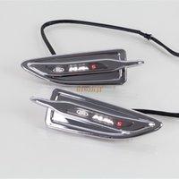 Juillet King Car Fender LED blanche côté lumière, Side Marker lumières, côté, Feux cas DRL pour Ford Kuga et Escape 2013-2019