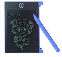 TOP أفضل البسيطة 4.4 بوصة LCD رسم لوحة رسم لوحة الكتابة اللوحي رسالة مذكرة أطفال رسم أداة اللوحي