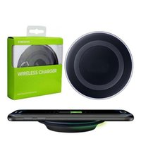 Universal Qi Wireless Charger For Samsung Note8 Galaxy s7 Ed...
