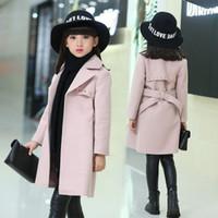 Casacos de inverno para meninas Outwear para crianças de lã casaco grosso menina Snowsuit bebé Casacos Meninas Misturas criança casacos de pele Roupa Crianças