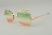 19 новых храмовых леопарда способа голову металла очки, 8300917-C персонализированные пользовательские очки, выгравированные линзы, размер: 56-18-135mm очки