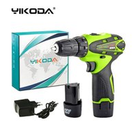 YIKODA 12V Cordless Driver Drill Lithium Battery*2pc Recharg...