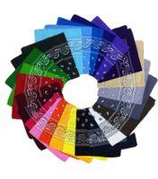 매우 높은 품질의 힙합 인쇄 코튼 두건 유니섹스 헤드 스카프 55 * 55cm 무료 및 빠른 특급 배달
