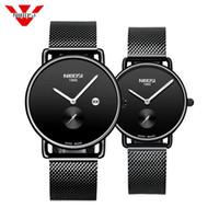 NIBOSI Brand Luxury Lover часы пара Водонепроницаемый Мужчины Женщины Пара Часы кварцевые наручные часы Мужской Женский браслет Relogio Мужчина для