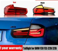 سيارة الصمام الخفيفة ضوء الضوء الخلفي لسيارات BMW F30 F35 320i 328i 2013 - 2017 مصباح الضباب الخلفي + مصباح الفرامل + عكس + إشارة بدوره ديناميكي