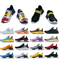 Pharrell Williams Women Mens Breathable Running Shoes Human ...