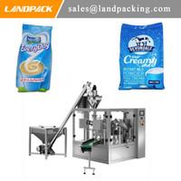 Çok fonksiyonlu otomatik torbalı süt tozu musluk çantası dolum makinası Döner paketleme ekipmanları adanmış